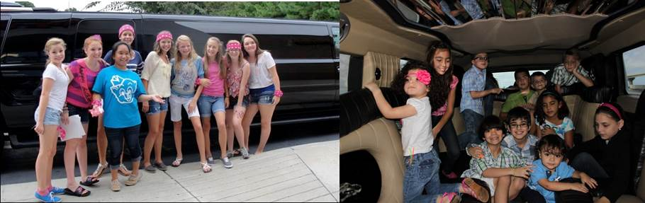 Limo Ride And Other Unique Kids Birthday Ideas