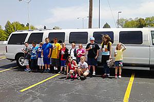 birthday limousine service