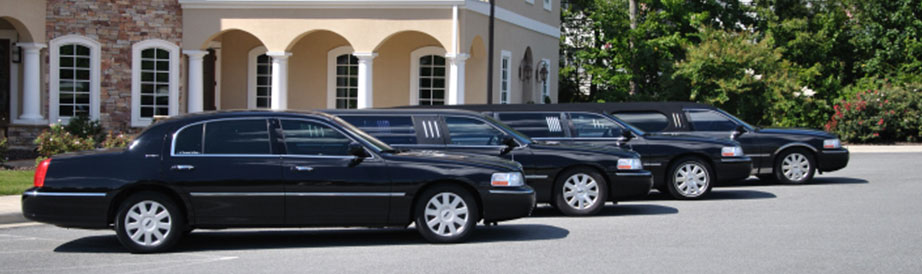 Group of Limousines - Corporate Transportation - A Formal Affair Limo